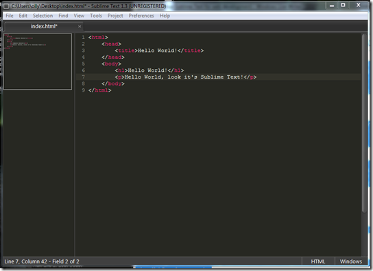 sublime text ss